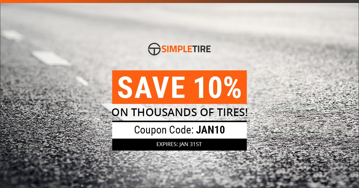 Simpletire Com On Twitter Save Up To 10 On Thousands Of Tires By