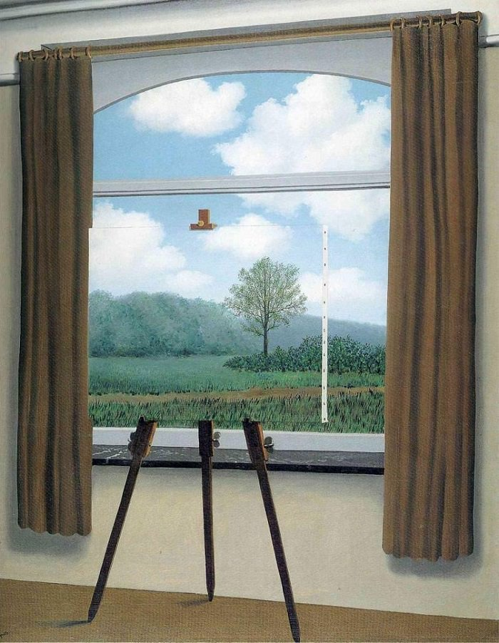 RT @wannartcom: René Magritte'den 'The Human Condition' https://t.co/bxgpivC78L