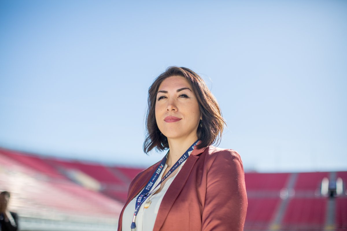 Idaho woman challenges establishment and history in hope of becoming nation's first Native American governor