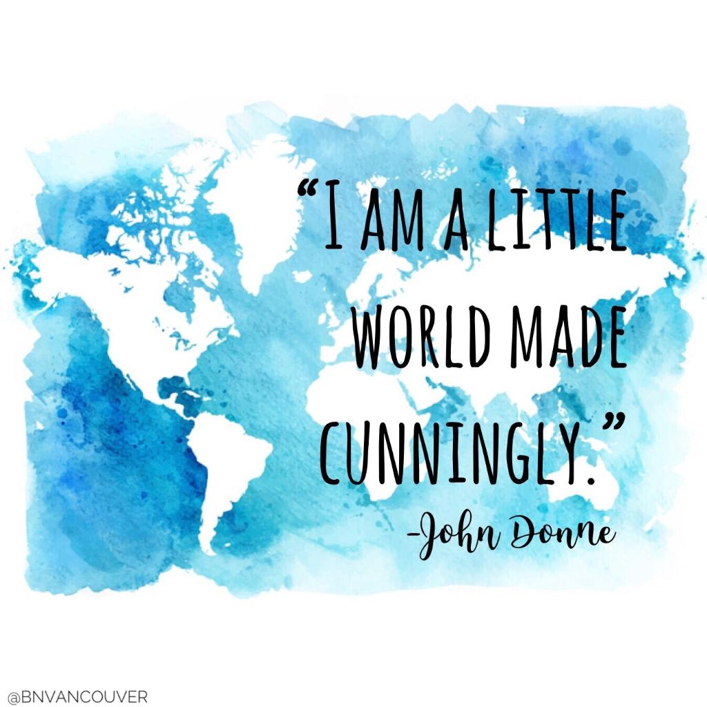 i am a little world made cunningly