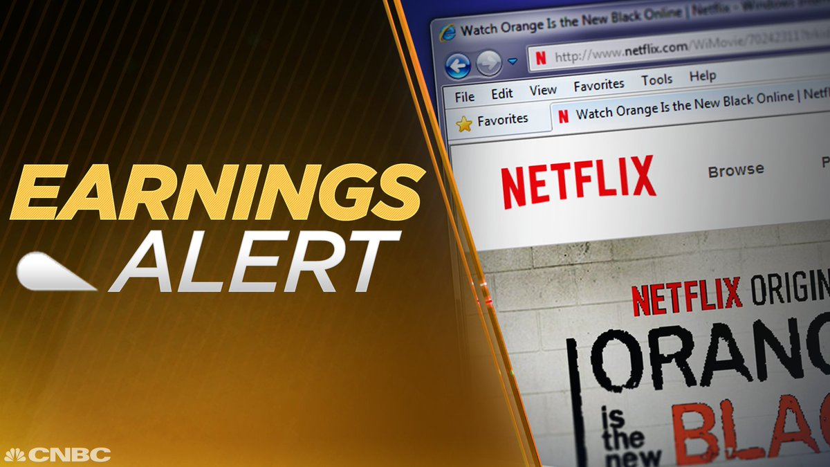EARNINGS: Netflix Q4 EPS $0.41 vs. $0.41 Est.; Q4 Revs. $3.29B vs. $3.28B Est. • $NFLX https://t.co/t0gE6nRSfb
