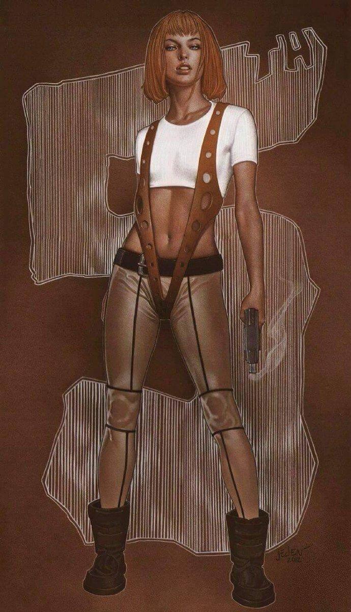fifth element nude scene