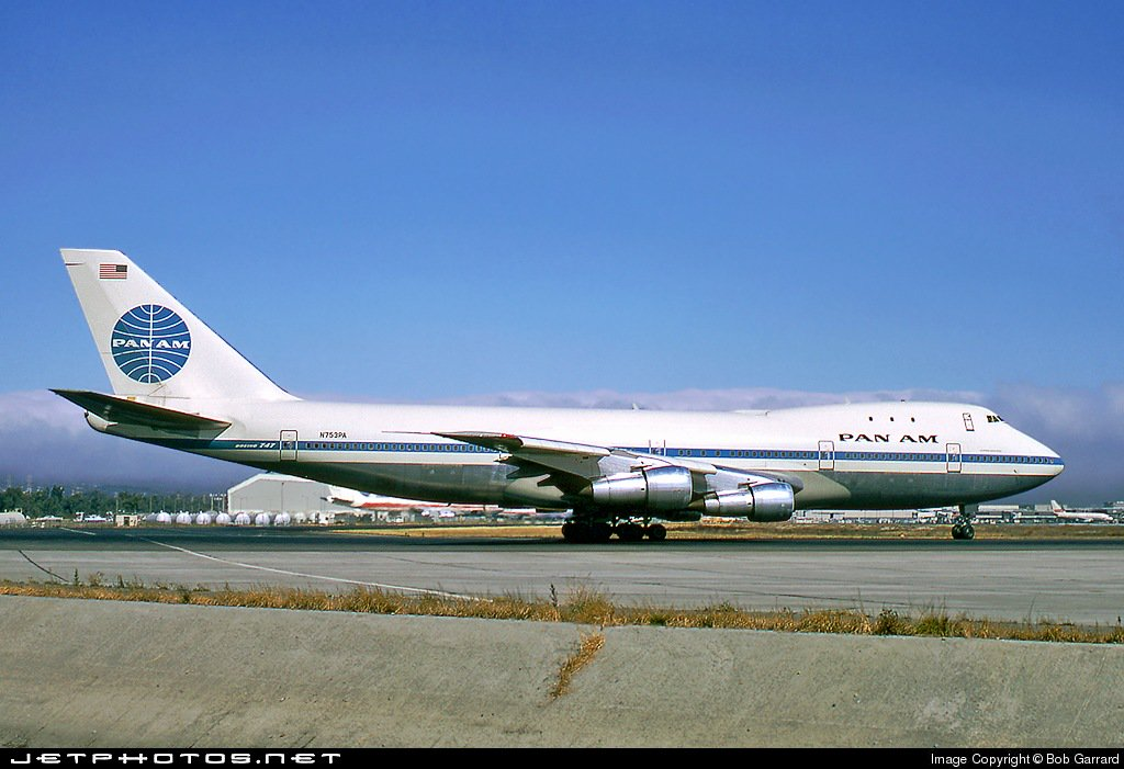 The first commercial flight of the @BoeingAirplanes 747 took place 48 years ago today as Pan Am put the Jumbo Jet into service between New York and London.   185 747s (130 747-400, 55 747-8) are currently making their way around the world.