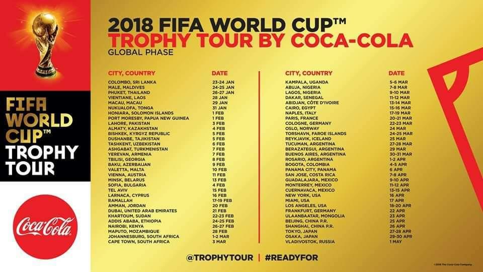 La Copa del Mundo pasará por Berazategui. Tomá mate. https://t.co/bdPDTk7Nj6