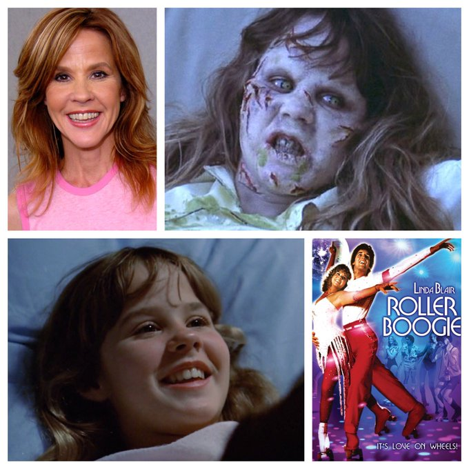 Happy Birthday, Linda Blair! A true Scream Queen and First Lady of Horror.