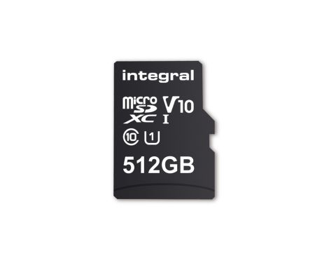 Integral Memory's new 512GB microSD card is the biggest microSD card yet https://t.co/vVSqhnk8Ba