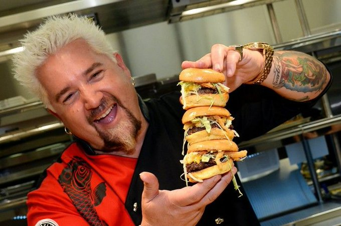 Happy Birthday, Guy Fieri! The Food Network Celebrity Chef turns 50 today!