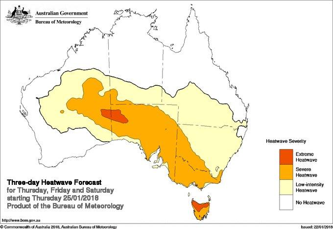Map Of Northern Victoria Australia.Bureau Of Meteorology Victoria On Twitter Over The Heat Yet