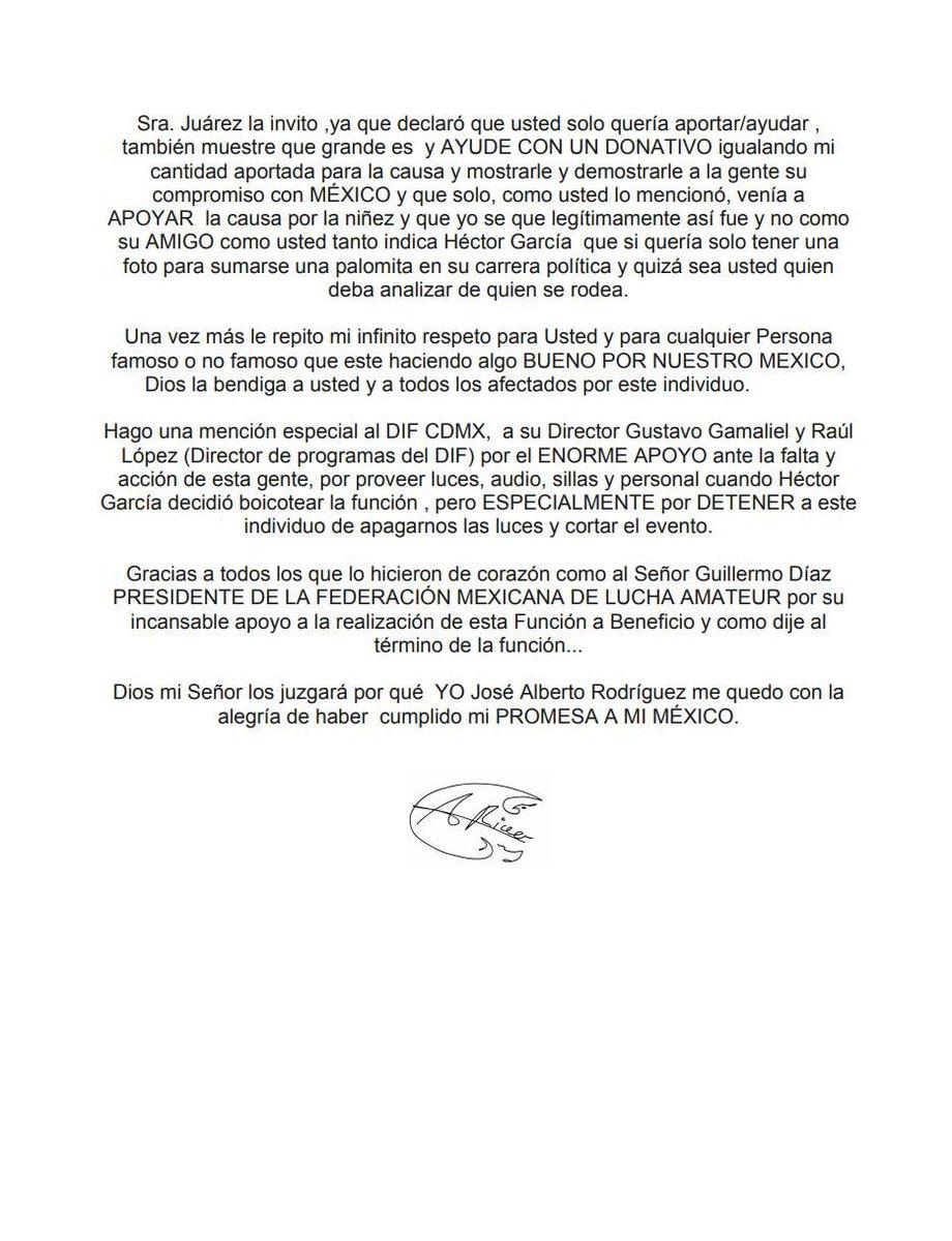 """A pesar de los intentos de boicot, Alberto el Patrón llevó a cabo """"Lucha por ellos"""". 6"""