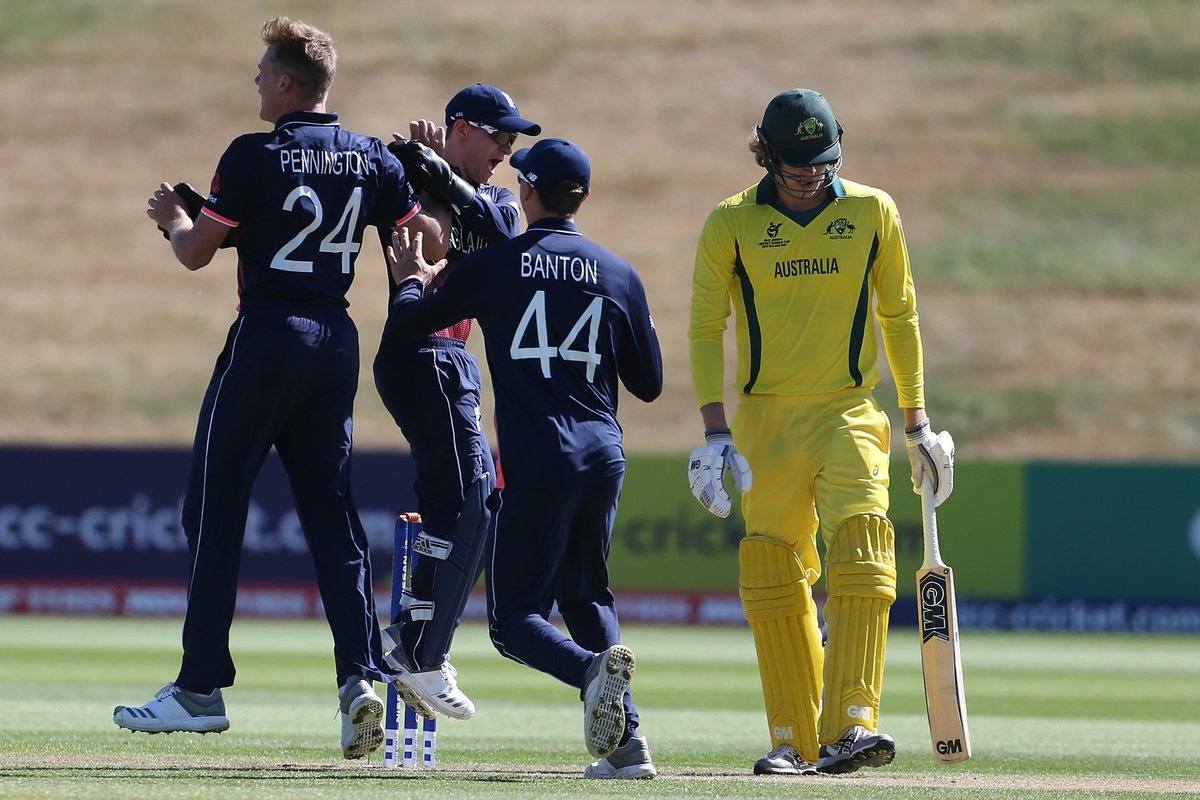 ICC U-19 World Cup: Lloyd Pope's Eight-For Fires Australia To Thrilling Win Over England 7