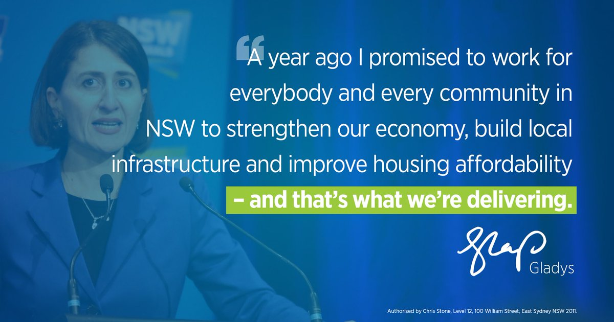 LiberalNSW 'Together, we've achieved so...