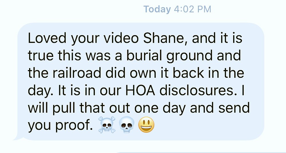 from Rylands dad. HOLY SHIT 💀👣