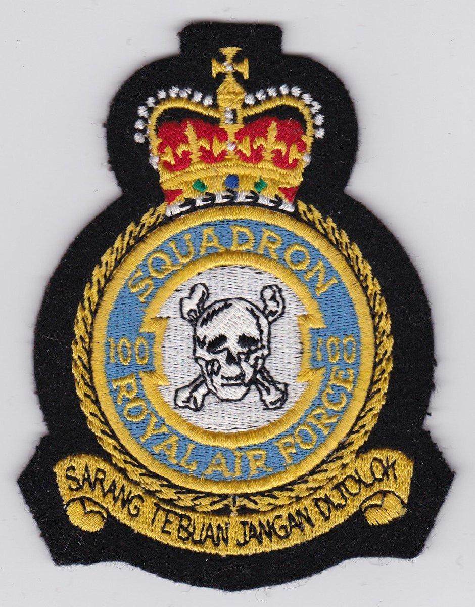 "OzierFarhan on Twitter: ""Fun fact for today: The United Kingdom 100  Squadron Royal Air Force motto is; ""Sarang tebuan jangan dijolok""… """
