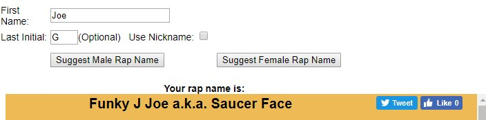 my rap name generator