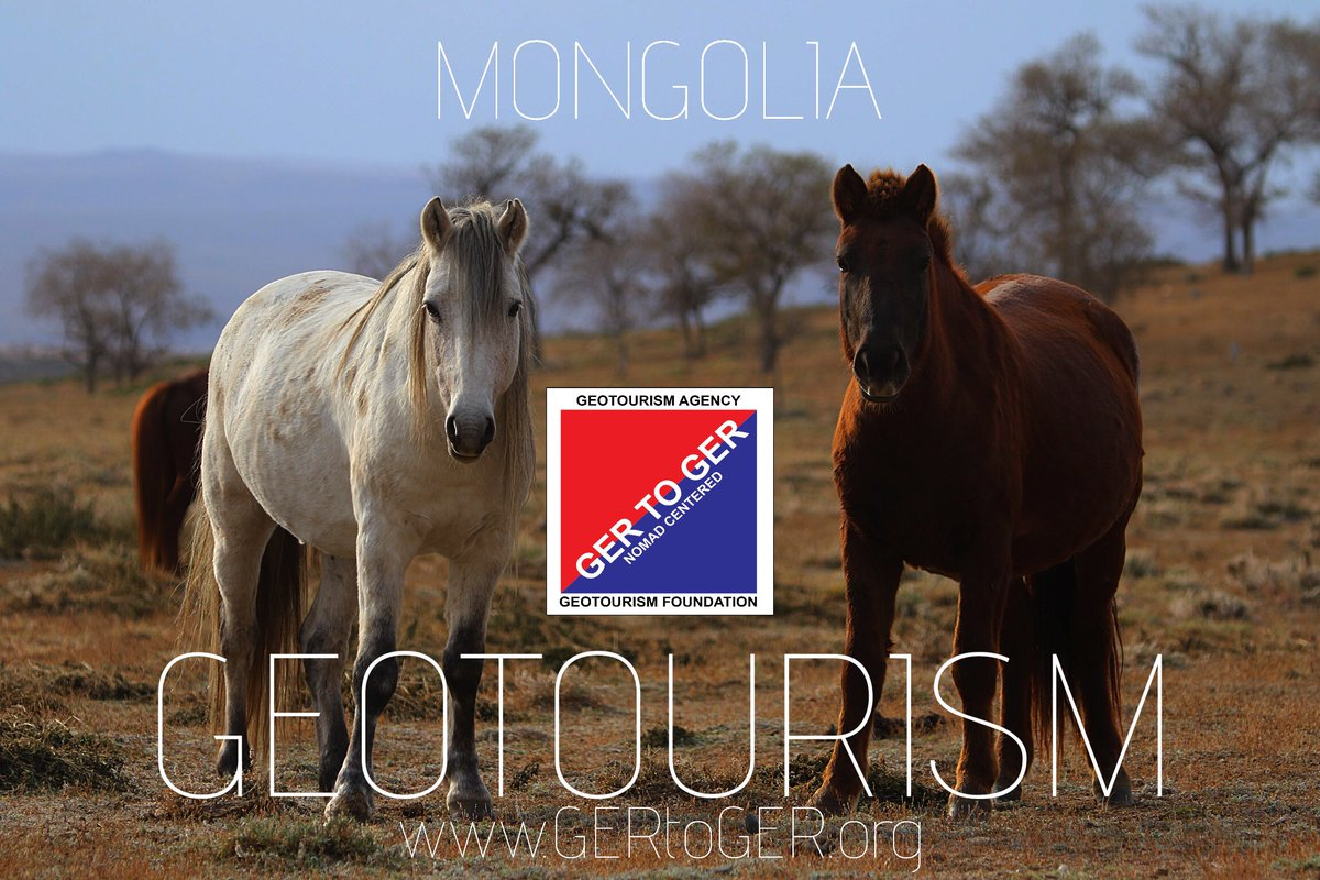 Travel Mongolia the GEOTOURISM way https://t.co/7eE4kRkuFJ 😎🙏 #GERtoGER #TTOT #travel #trips #homestay #horseback #trip #holiday #tours #photo #lp #tripadvisor #USA #EU #Germany #UK #London #France #Canada #HongKong #Singapore #Asia #Japan #Korea #Mongolia #unwto #atta #pic