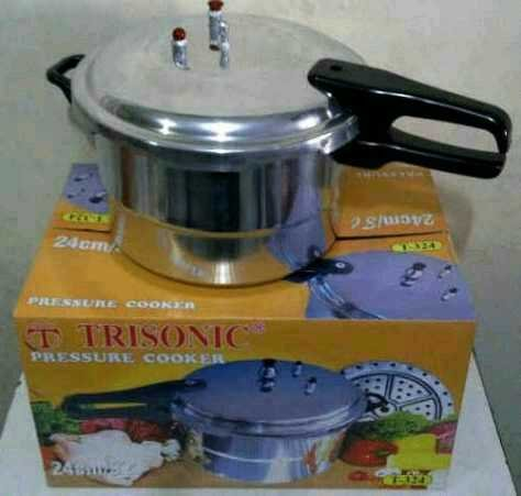 Trisonic Panci Presto 24 cm Capacity 8 Liter Pressure Cooker Hub Kami Di : 081287995757,