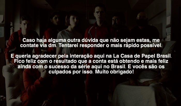 La Casa De Papel Brasil On Twitter Links Para Ver Online Https