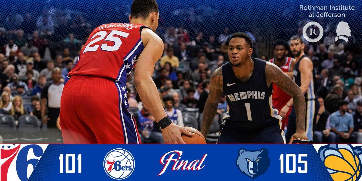 Final from Memphis.