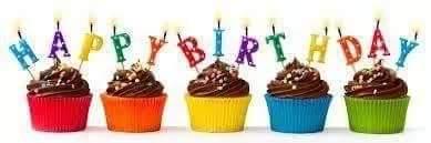 Congratulations! HAPPY! BIRTHDAY! Linda! Blair! Sweeet! Way! Cool!  Aaaay!