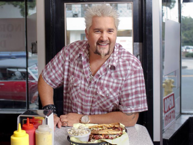 Happy Birthday to the my personal hero, Guy Fieri. Thank you for inviting us all to flavortown.