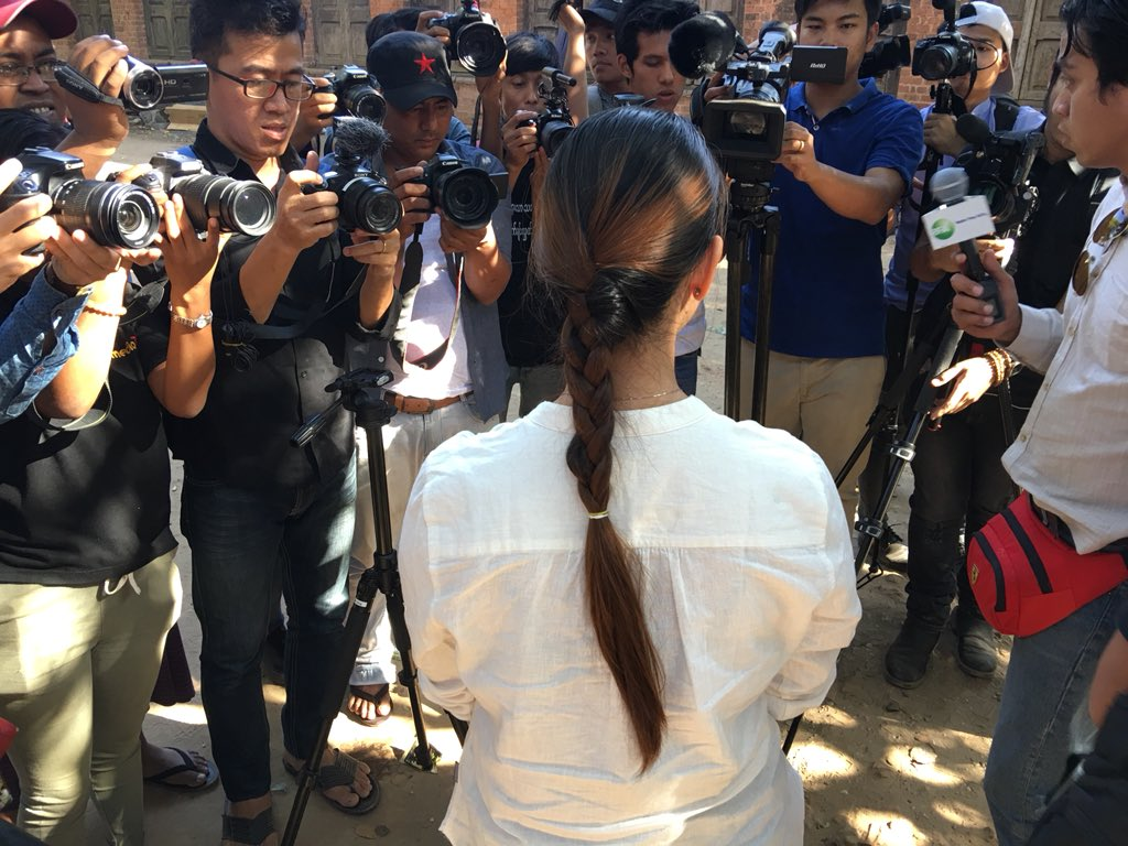 The trial of Reuters journalists Wa Lone and Kyaw Soe Oo has caused outrage in Myanmar and across the world. Their lawyers were mobbed by the media. Wa Lone's wife, Pan Ei Mon, also spoke of the men's innocence. #FreeWaLoneKyawSoeOo