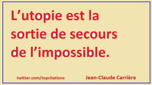 Citations Utopie Pause2cafe