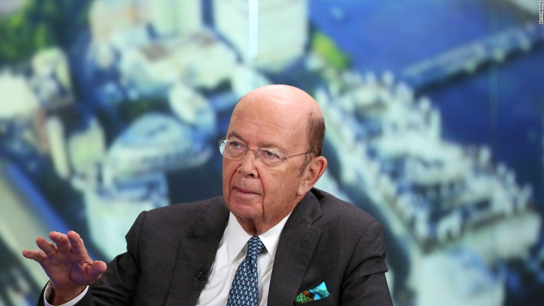 Commerce Secretary Wilbur Ross says reports that President Trump is unhappy with his performance are 'obsolete' https://t.co/Csl3dDbyHd