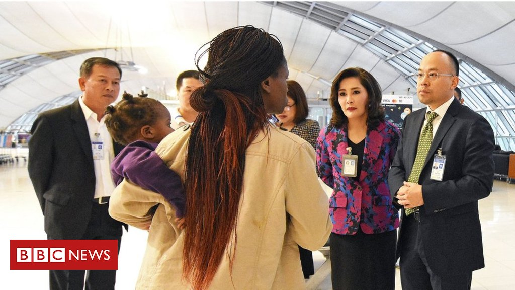 Zimbabwe family leave Bangkok airport after three months https://t.co/FVOOg2nVAn