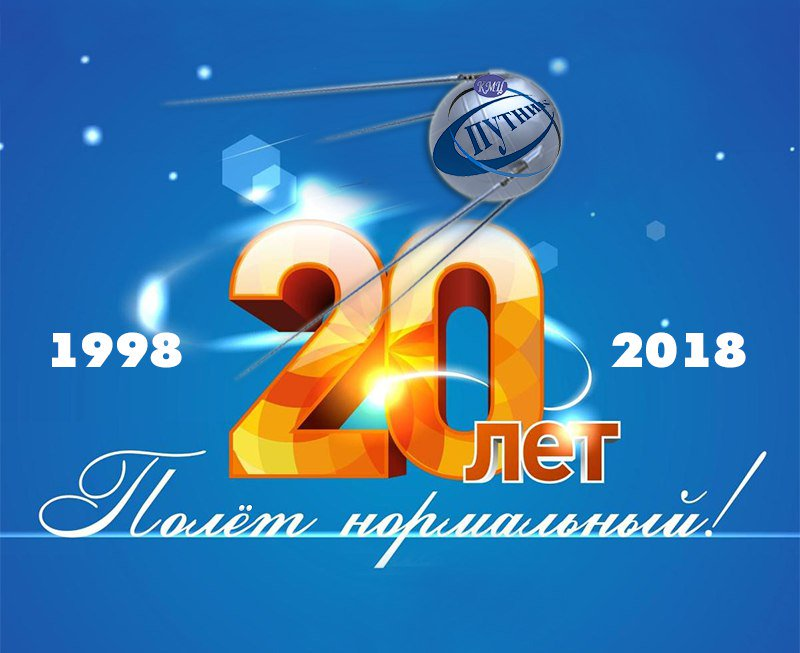 Открытка фирме 20 лет