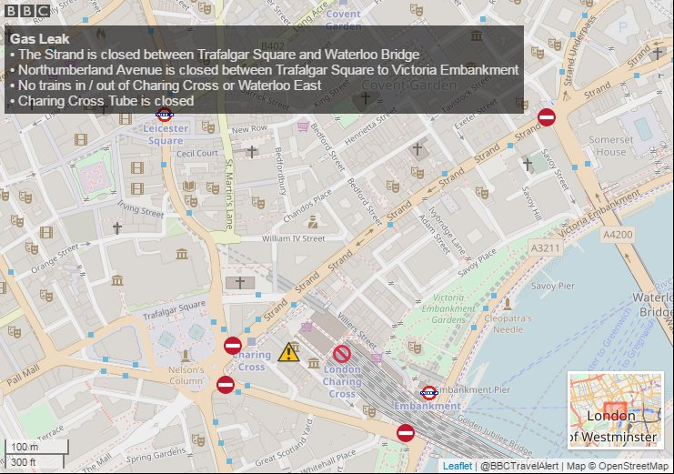Bbc London Travel On Twitter Charingcross An Update To Our Map Of