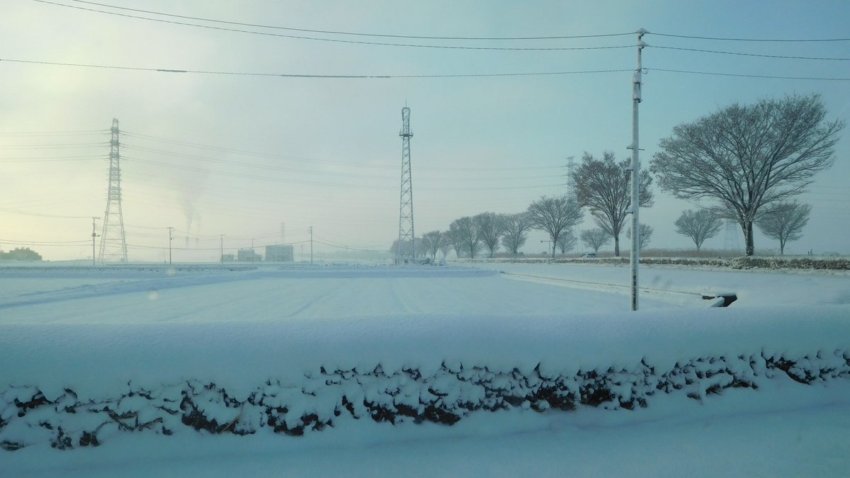 今朝の深谷での雪景色ですが今はほとんど解けていましたね。 #雪景色 #今朝 #深谷市 https://t.co/QN6fzy68hI