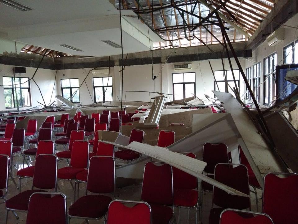 Gempa 6,4 SR Mengguncang Banten