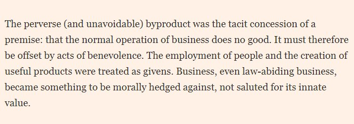 The problem with Corporate Social Responsibility, by @JananGanesh FT https://t.co/RinOlKbOBA