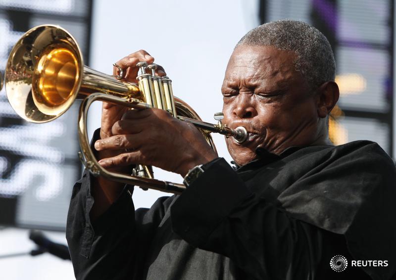BREAKING: 'Father of  South African Jazz' Hugh Masekela  dies aged  78 - eNCA TV