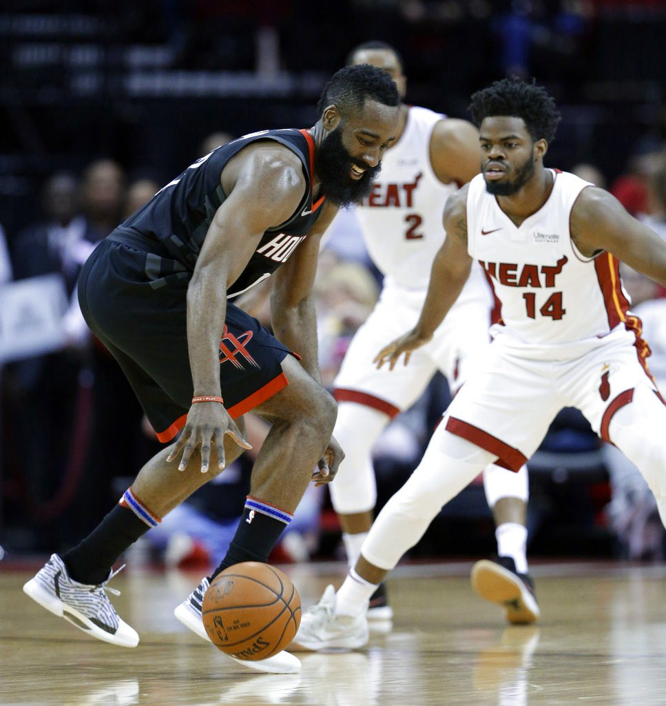 Harden's 28 help Rockets rally for 99-90 win over Heat https://t.co/GDNNo6eFcG