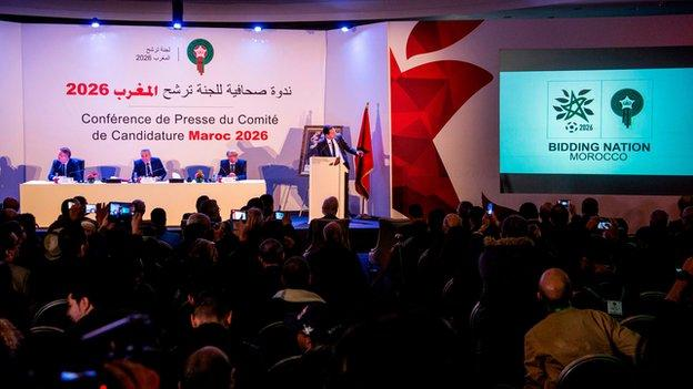 Morocco launches 2026 World Cup campaign and logo https://t.co/nppKSSnD3S