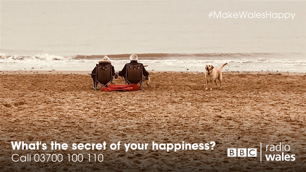 Wales regularly comes bottom of happiness surveys so today we're asking what you'll do to be that little bit happier?  📞 03700 100 110 📱 8 10 12  📻 https://t.co/Xbrff72ZT8 #WelshHappinessDay #MakeWalesHappy