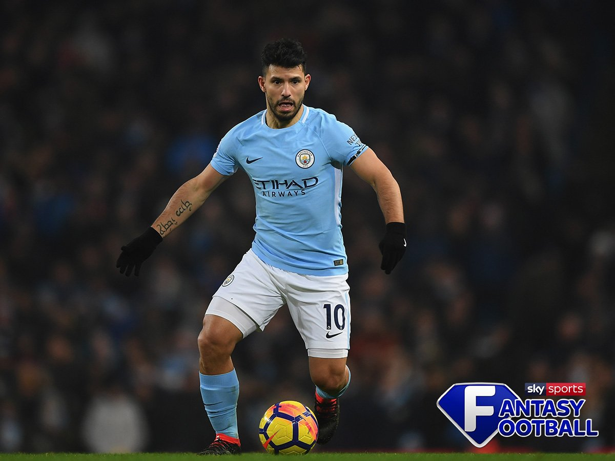 😏 Over 22% of you have selected him in your team.  👊 Starting XI: 2 pts. ⚽️ 3 goals: 15 pts. 🥅 Shots bonus: 2 pts. ⭐️ MOTM: 5 pts.  🏆 Sergio Aguero is your Player of the Week! #MCFC
