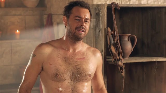 Danny dyer niked body