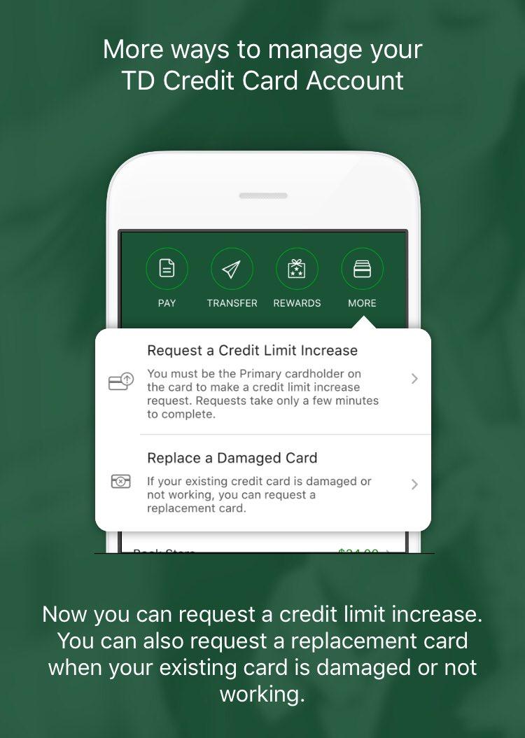 requesting a credit increase