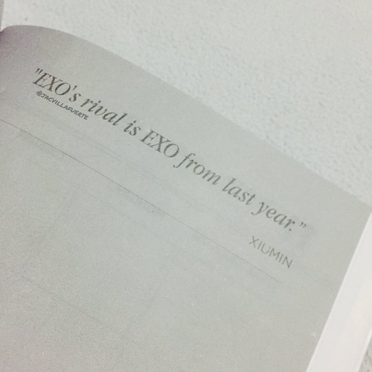 Jac On Twitter Exo Planner Has Exos Quotes The Things They