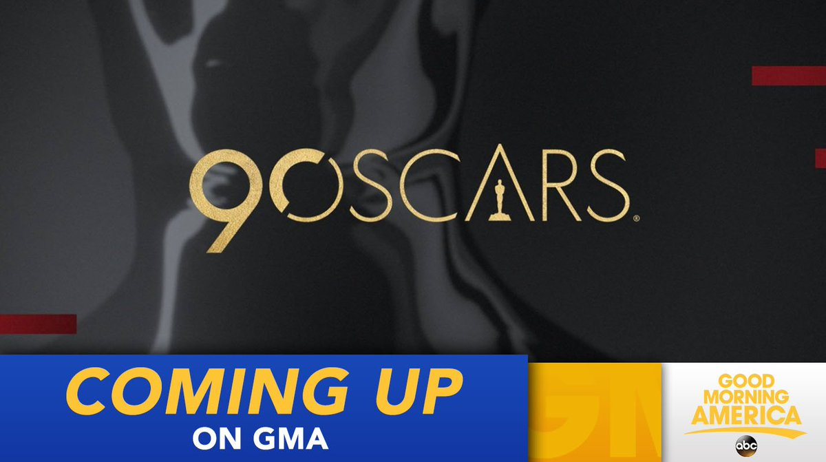 COMING UP: The Oscar nominations will be announced live! We'll break it all down and speak with some of the excited nominees this morning #OscarNoms #Oscars