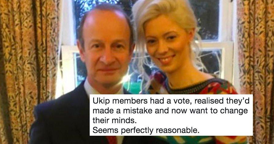 Our favourite 12 Henry Bolton jokes right now https://t.co/IpemwxOt4w #UKIP #ukipocalypse #HenryBolton #NigelFarage