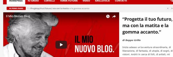 Il nuovo blog di #Grillo sancisce l'addio alla #Casaleggio https://t.co/w3aKLScKU1 https://t.co/2A880Gx0SV