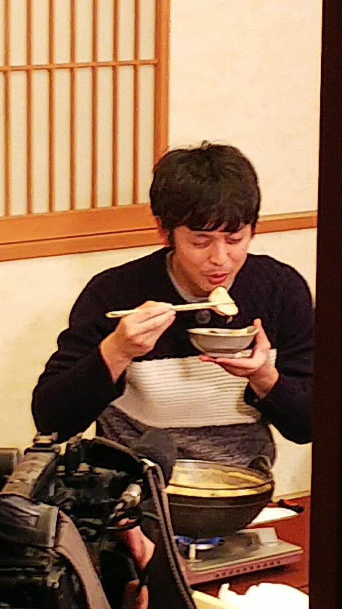 本日20時~ #BS-TBS で放送された『#日本の旬を行く! #路線バスの旅 』で #まるみつ旅館 さんに来た『#河相我聞』さんです。 #北茨城 #茨城県