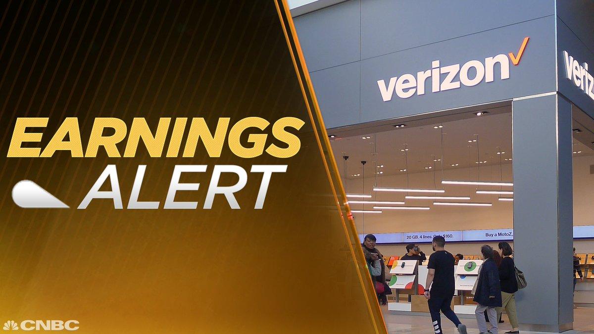EARNINGS: Verizon Q4 EPS $0.86 Adj. vs. $0.88 Est.; Q4 Revs. $33.955B vs. $33.258B Est. • $VZ https://t.co/LYevCHfJuc