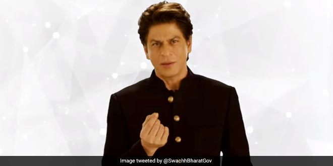 #SwachhIndia | #SwachhSurvekshan2018: Actor @iamsrk on how to curb waste generation by 50% https://t.co/8AQB5ZyTyA
