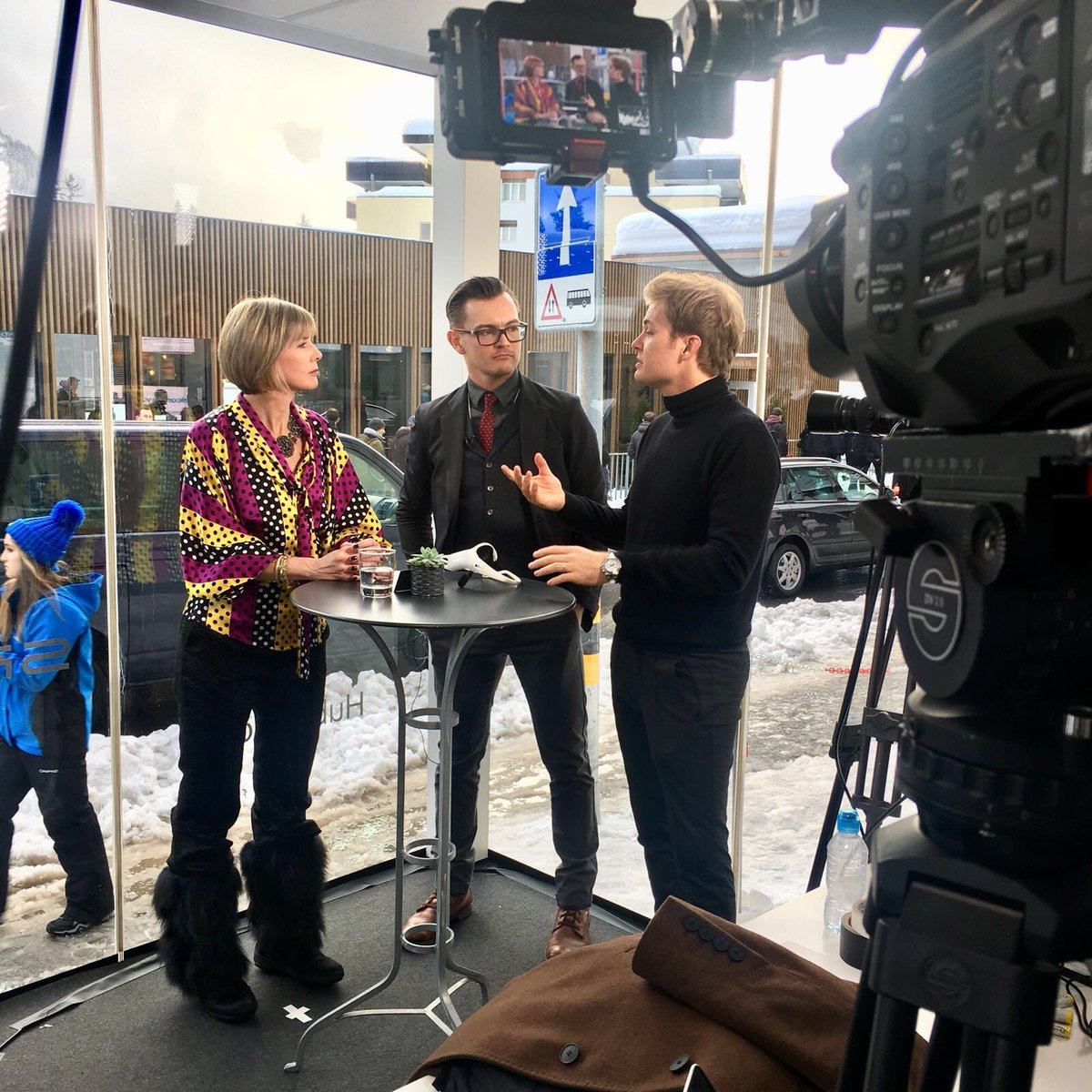 Live from @HubCulture @wef, @edielush chats to @NicoRosbergFR and @jamesphewitt about 'always-on' mode, fear and mental performance.  @emotiv @hintsaperform #wef2018 #hintsa #emotiv #Davos #Switzerland #business #empower #impact #purpose #societalimpact #neurotech #VR #blockchain<br>http://pic.twitter.com/DFCmt1NOz7