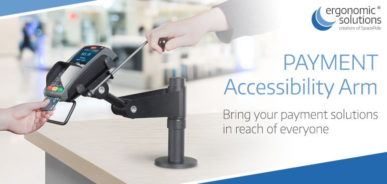 test Twitter Media - Check out our new Accessibility Arm, offering the most flexible payment mounting solution ever! Full details: https://t.co/W4TVRKAJIS https://t.co/ZCuq1X3KBw