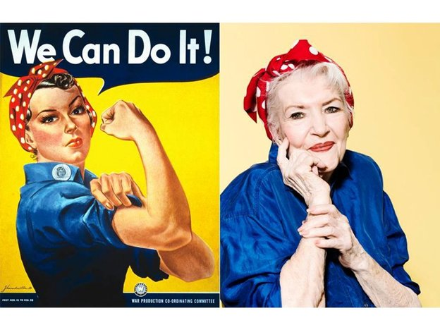 Naomi Parker Fraley, the Real-Life Rosie the Riveter, Dies at 96 https://t.co/ycg1bhtuAk Rest In Peace